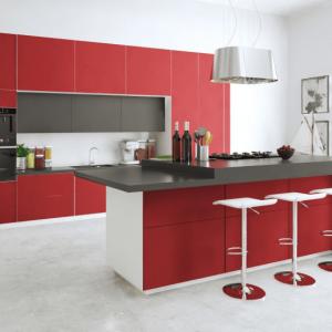 Матові акрилові фасади - сучасний тренд на кухні