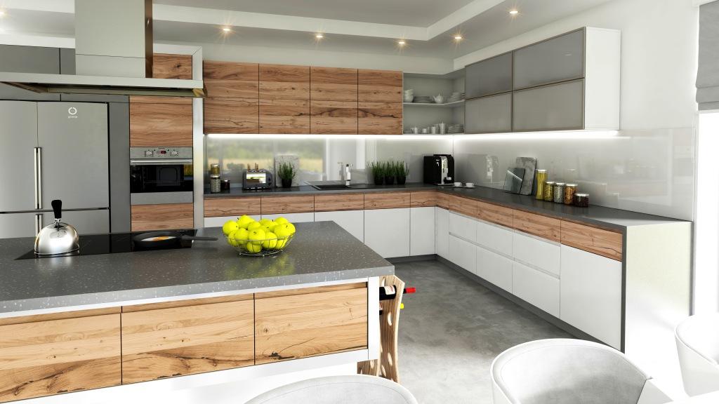 Проекти сучасних  кухонь